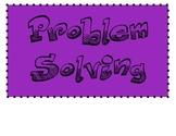 Problem Solving Process Posters