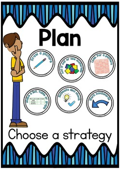 Problem Solving Process for Maths Poster Pack Middle/Upper Primary