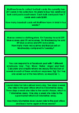 Maths Worded Problem Solving Question Cards - One Star (Set 1)