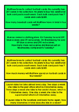 Maths Worded Problem Solving Question Cards Sample Pack