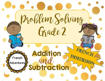 Problem Solving Questions Grade 2 French Immersion