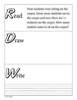 Problem Solving: Read Draw Write Change Unknown