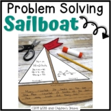 Problem Solving Sailboat Craftivity