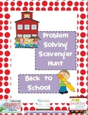 Problem Solving Scavenger Hunt