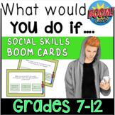 Social Skills BOOM Cards   Social Problem Solving   Distance Learning
