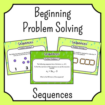 Problem Solving - Sequences