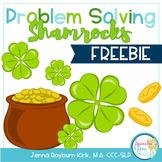 Problem Solving Shamrocks FREEBIE