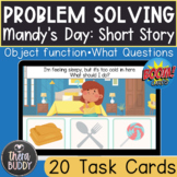 Problem Solving Short Story Answering What Questions BOOM Cards