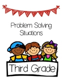 Problem Solving Situations Book-Third Grade