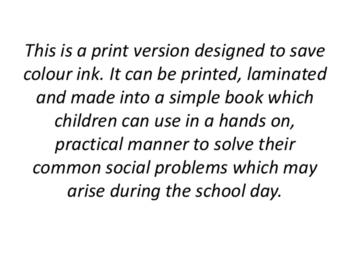 Problem Solving Social Skills Procedural Text -  ECONOMICAL PRINT VERSION