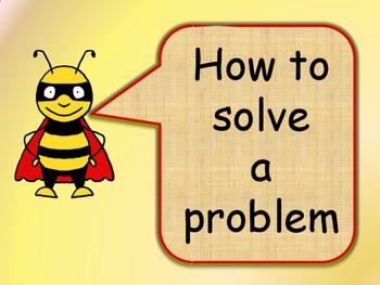 """Problem Solving Social Skills Procedural Text - """"How to solve a problem"""""""
