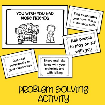 "Problem Solving Activity With ""But It's Not My Fault!"""