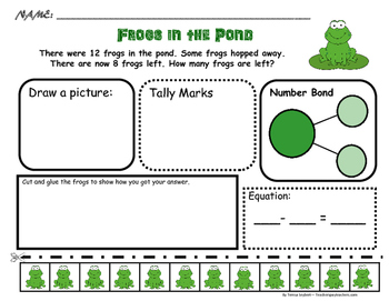 Problem Solving: Spring - Frogs, Rainy Day, Kites and Birds