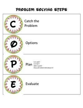 Problem Solving Steps-Cope