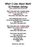 Problem Solving Steps: Song