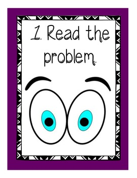 Problem Solving Steps & Strategies