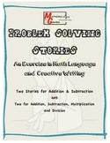 Problem Solving Stories - Math Language and Creative Writing