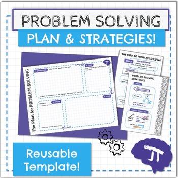 Problem Solving Strategies! Reusable Template!