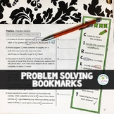 Problem Solving Strategies Bookmark