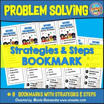 Problem Solving Strategies Bookmarks