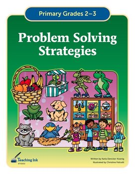 Problem Solving Strategies (Grades 2-3) - by Teaching Ink
