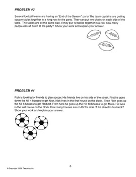 Problem Solving Strategies (Grades 3-4) by Teaching Ink