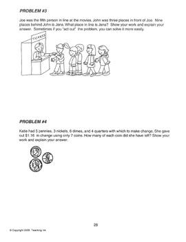 Problem Solving Strategies (Grades 3-4) by Teaching Ink