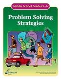 Problem Solving Strategies (Grades 5-6) by Teaching Ink