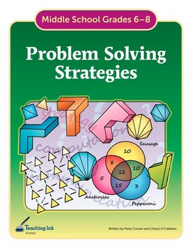 Problem Solving Strategies (Grades 6-8) by Teaching Ink