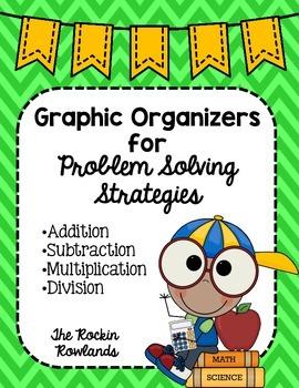 Problem Solving Strategies Graphic Organizers