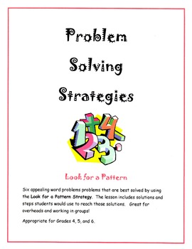 Problem Solving Strategies - Look for a Pattern
