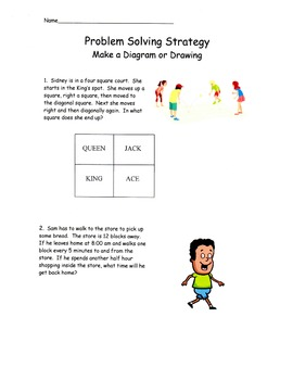Problem Solving Strategies - Make a Drawing