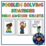 Problem-Solving Strategies Mini Anchor Charts