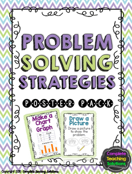 Problem Solving Strategies Poster