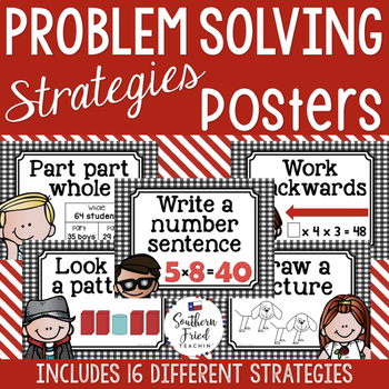 Problem Solving Strategies Posters