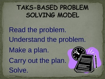 Problem Solving (PowerPoint)