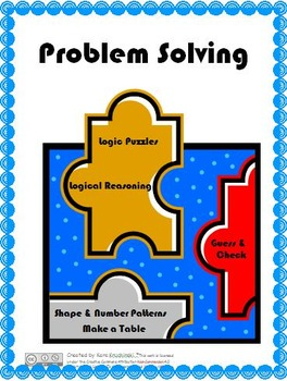 Problem Solving Strategies Practice