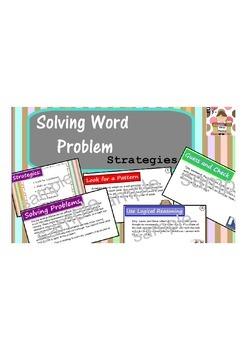 Problem Solving Strategies SMART Notes