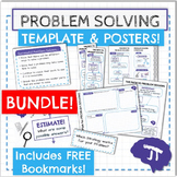 Problem Solving Strategies, Template, and Poster Set BUNDLE