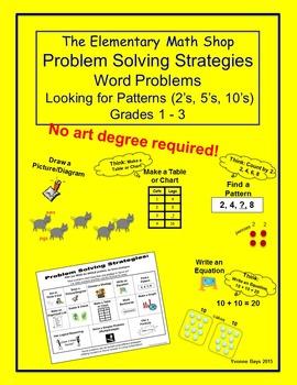 Problem Solving Strategies - Word Problems Grades 1 - 3