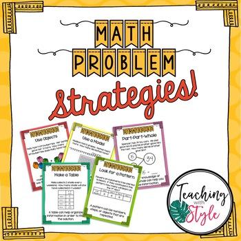 Problem Solving Strategies & Worksheets