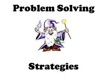 Problem Solving Strategies in Math Posters