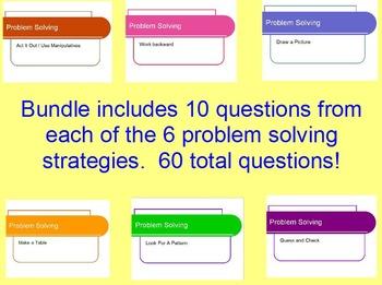 Problem Solving Strategy Bundle - Covering each problem solving strategy
