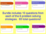 Problem Solving Strategy Bundle - Covering each problem so