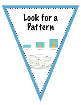 Problem Solving Strategy Flags Bunting