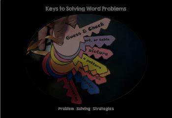 Problem Solving Strategy Keys