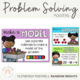 Problem Solving Strategy Posters {Rainbow}