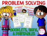 Problem Solving (Student Booklets, Signs, & Printables 1st