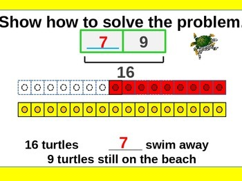 Problem Solving Subtraction and Addition for Visual Learners