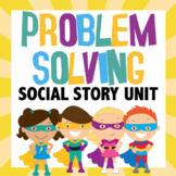 Problem Solving Superhero social story unit
